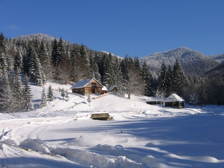 Winter in Maramures 0
